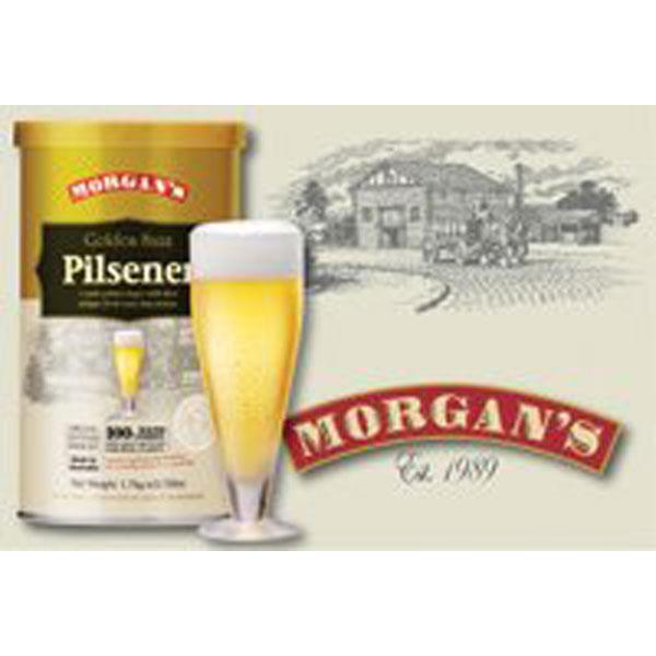 Morgan's Premium Range - Golden Saaz Pilsener