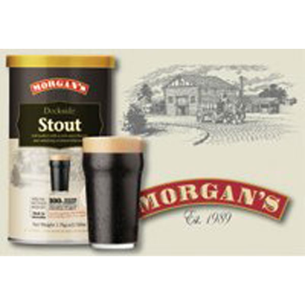 Morgan's Premium Range - Dockside Stout