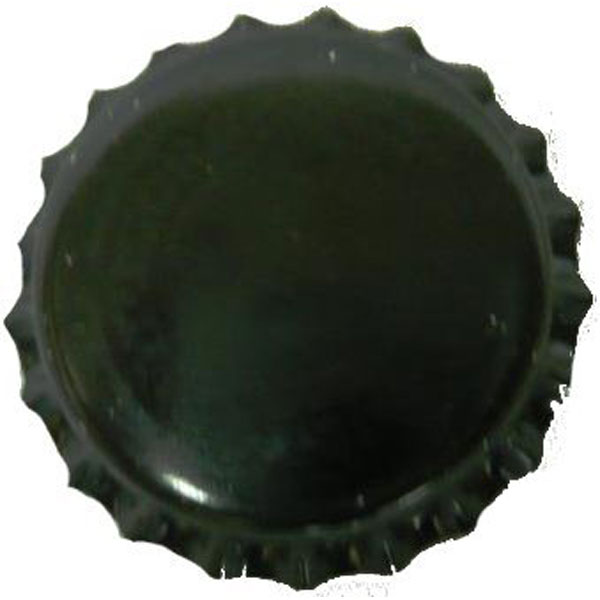 Bottle Caps Black 200