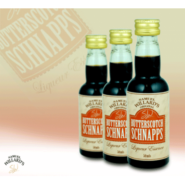 Butterscotch Schnapps - Samual Willard's 50ml