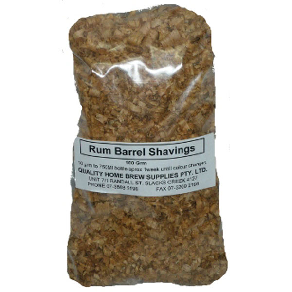 Rum Barrel Shavings 100g