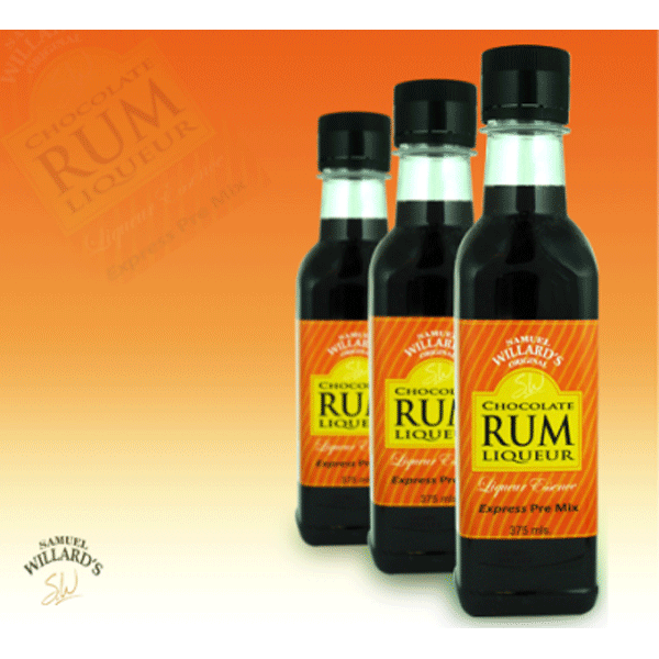 SW Chocolate Rum Liqueur - Pre Mixed