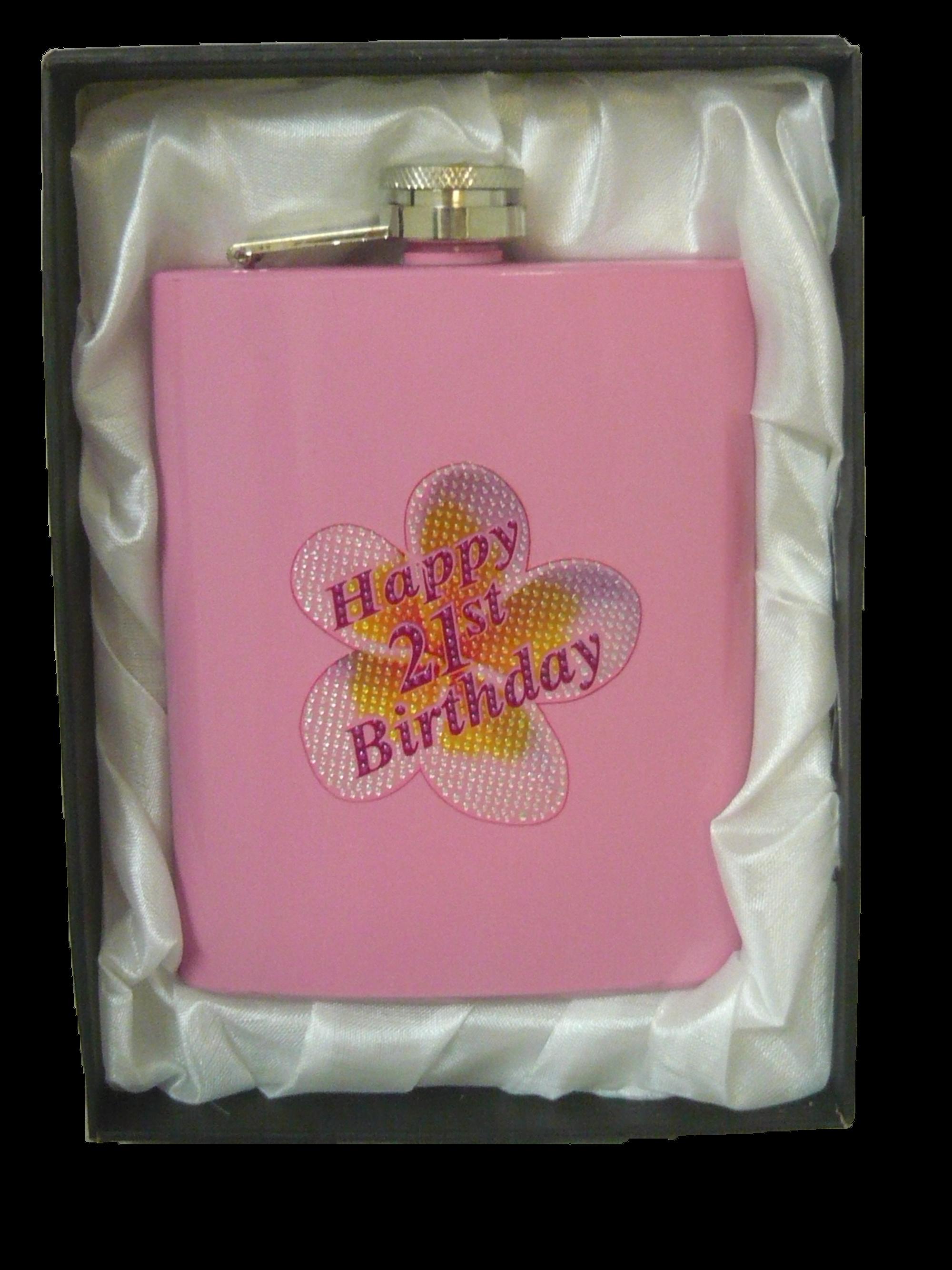 Happy 21st Birthday - Vidori Flask