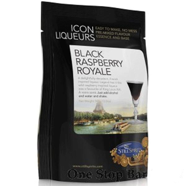 Icon Liqueuers Black Raspberry Royale