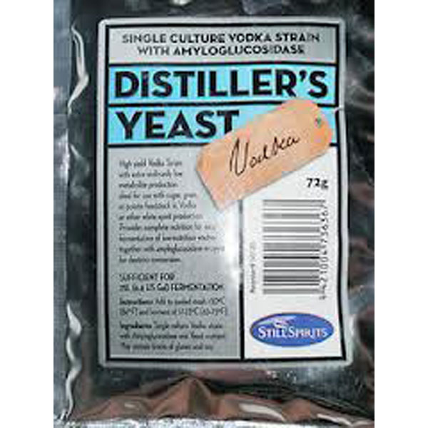 Distiller's Yeast - Vodka