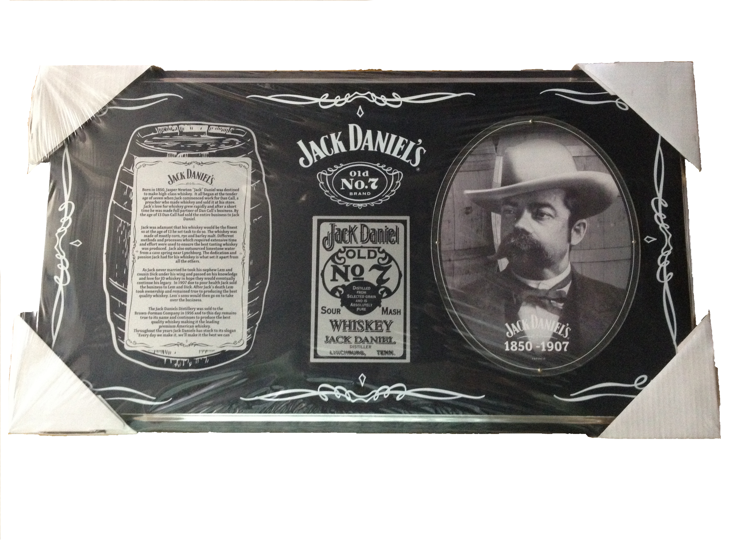 Jack Daniel's Collectable Barrel Plaque