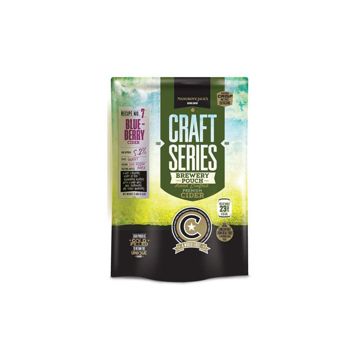 Mangrove Jacks - Blue Berry Cider - Craft Series