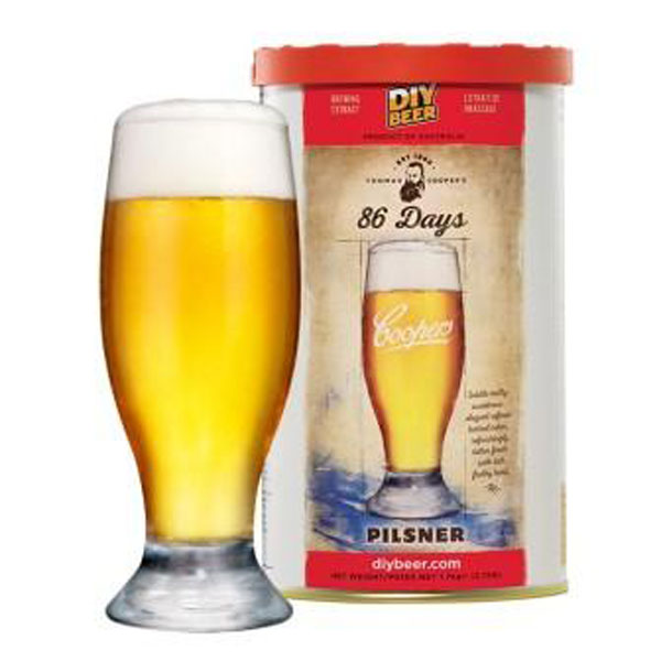 86 Days Pilsner - Thomas Coopers