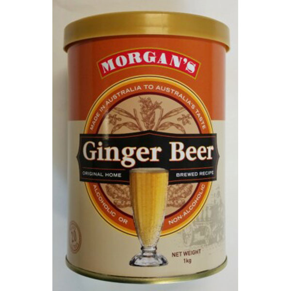 Morgans Ginger Beer Range