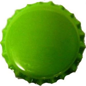 Bottle Caps Green 100