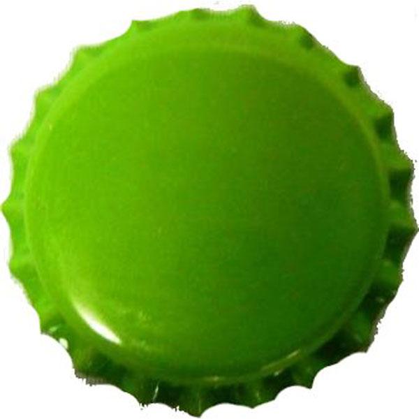 Bottle Caps Green 100