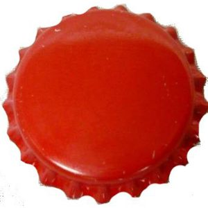 Bottle Caps Red 100