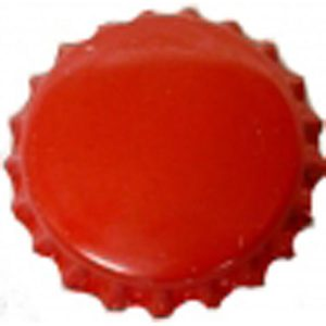 Bottle Caps Red 200