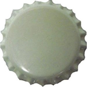 Bottle Caps White 100