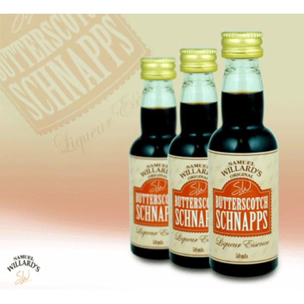 Butterscotch Schnapps - Samual Willard's 50ml