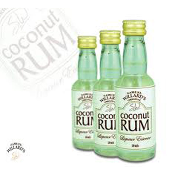 Coconut Rum - Samual Willard's 50ml