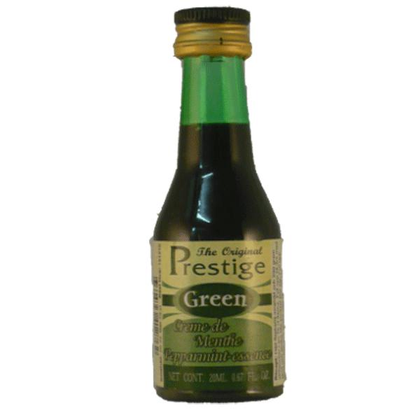 Liqueur - Green Creme de Menthe Peppermint (Prestige)