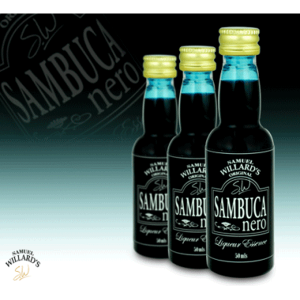 Sambuca Nero - Samual Willard's 50ml