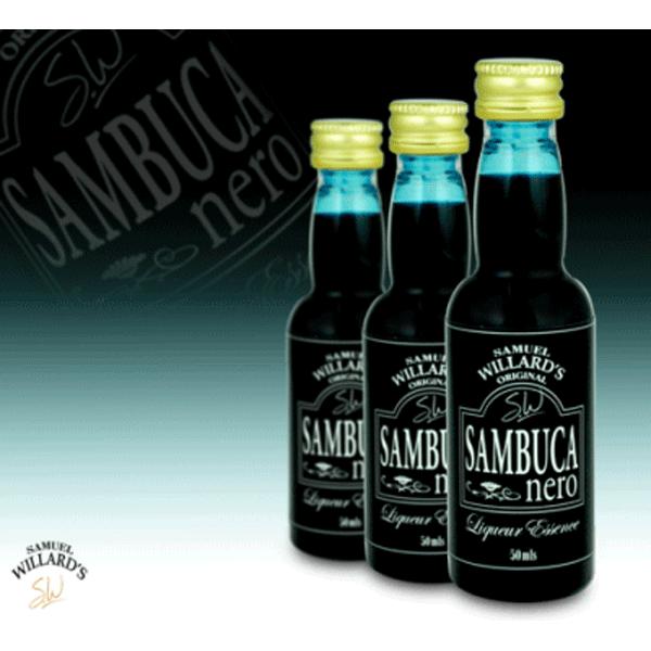 Sambuca Nero - Samual Willard's 50ml