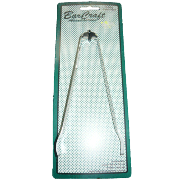 Ice Tongs Stainless Steel - Barcraft Accessories